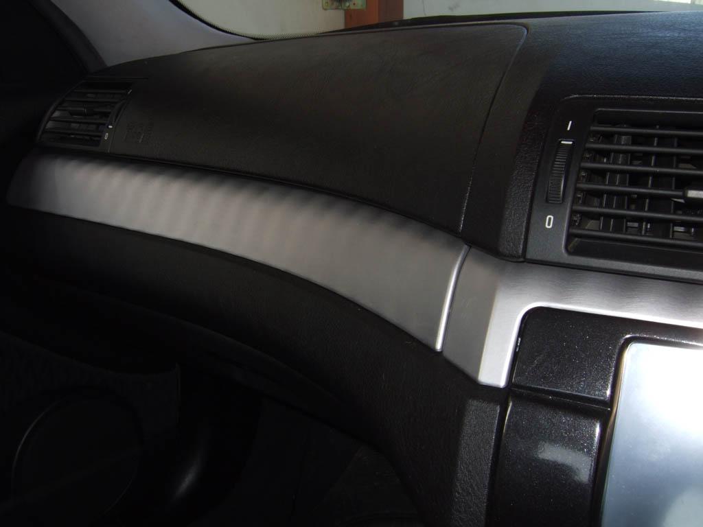 Aluminum Brushed Columns interior trim - E46Fanatics